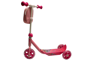 Toy scooter with 3 wheels